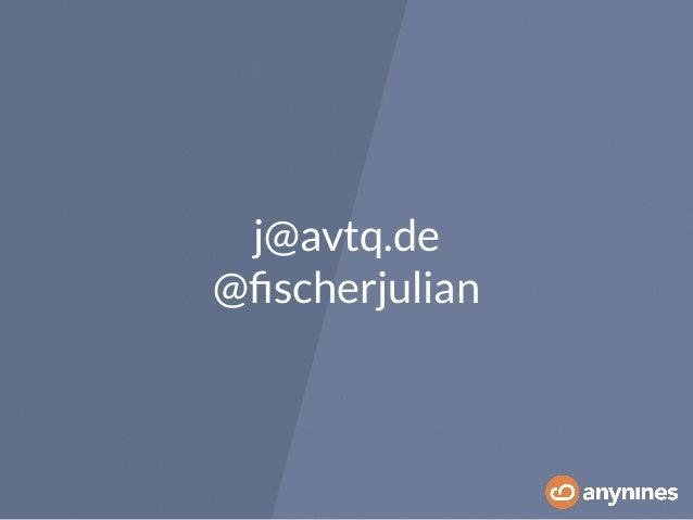 j@avtq.de  @fischerjulian