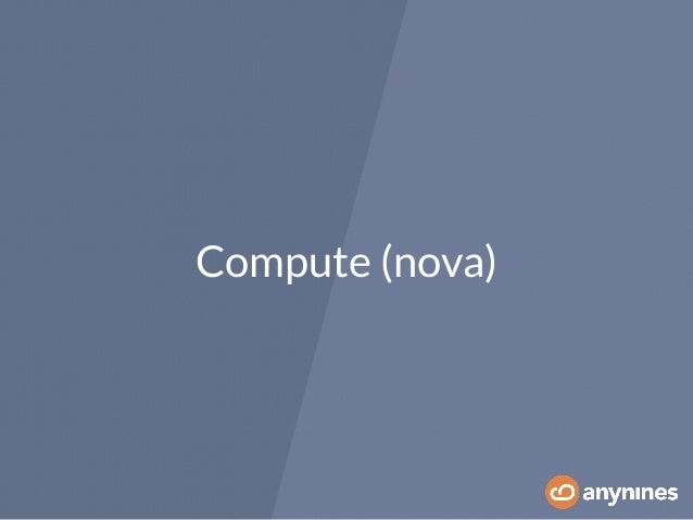 Compute (nova)