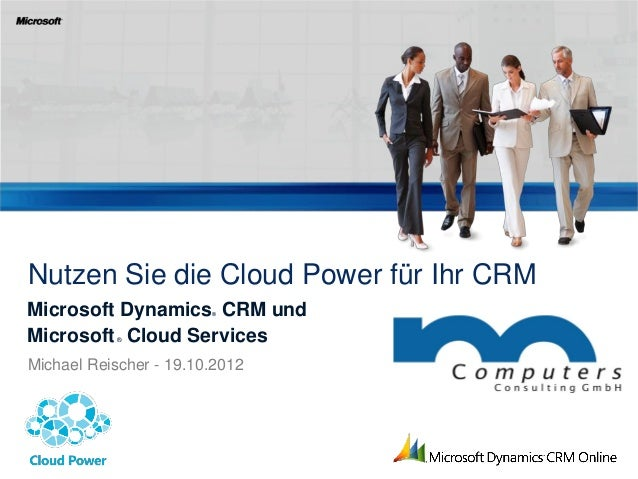 Cloud Integration - Microsoft Dynamics CRM online