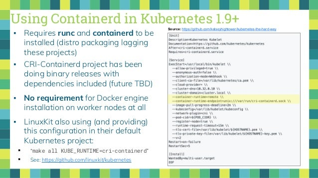 Whose Job Is It Anyway? Kubernetes, CRI, & Container Runtimes