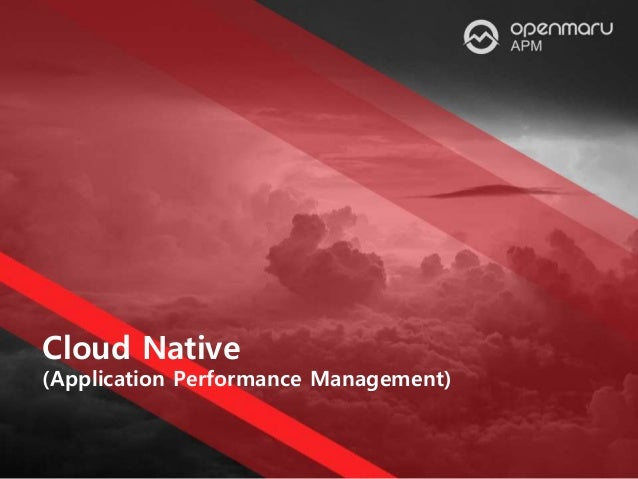 Cloud Native (Application Performance Management)