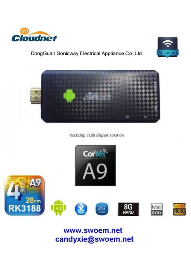 Ad design for Cloudnetgo cr9s quad core mini android tv stick