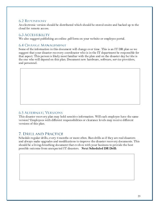Cloudnition Dr Plan Template Fillable Form - Cloud disaster recovery plan template