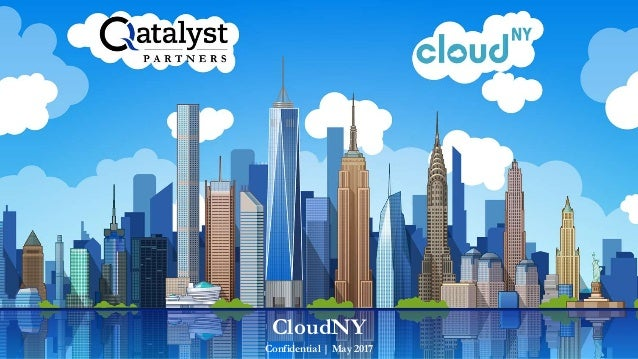 Confidential | May 2017 CloudNY