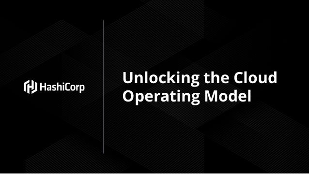 Unlocking the Cloud Operating Model
