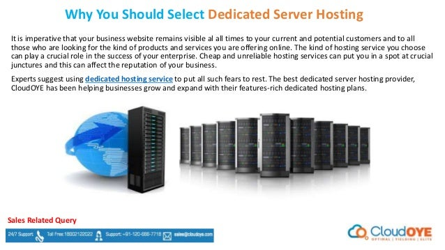 Best dedicated server service o