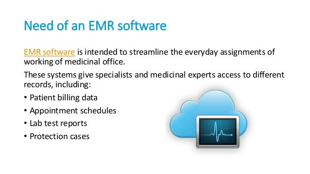 Need Of Electronic Medical Record Software