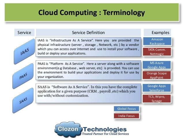 Cloud Computing Overview , IAAS , SAAS , PAAS and it's Benefits
