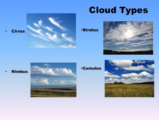 an overview of different types of fog and clouds Computing aficionados draw a distinction between different types of cloud public clouds  there may be different kinds of clouds  a simple overview that.