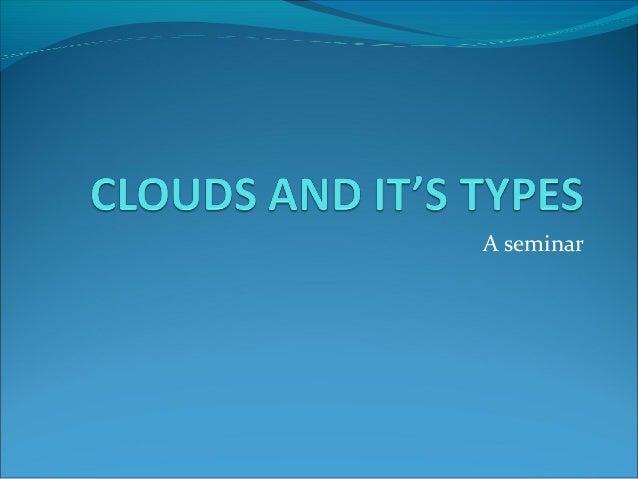 A seminar
