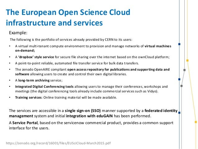 rnp cloud infrastructure model services and challenges