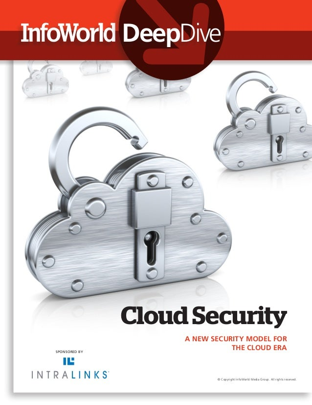 DeepDive               Cloud Security                    A NEW SECURITY MODEL FORSPONSORED BY                             ...