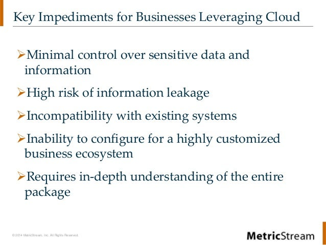 Webinar | Power of Cloud Security | Governance, Risk, and Compliance Framework  Slide 3