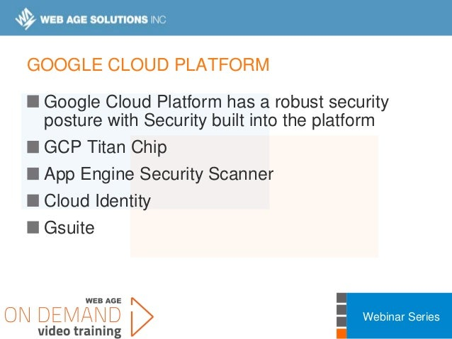 Cloud Security Fundamentals Webinar