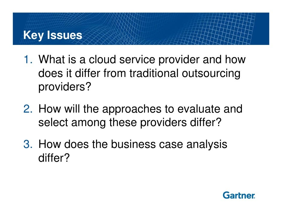 Distinguishing Evaluating And Selecting Cloud Service