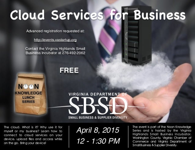 The cloud. What is it? Why use it for myself or my business? Learn how to connect to cloud services on your device, upload...