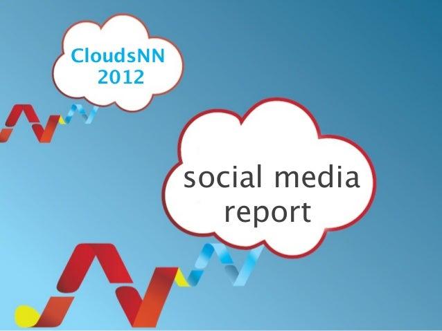 social mediareportCloudsNN2012