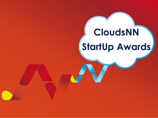 CloudsNN StartUp Awards