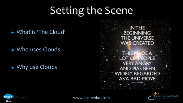 Cloudstack 101 - an introduction to Coudstack Slide 2