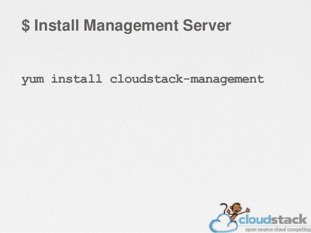 $ Storage Configuration • Export /primary and /secondary from the  Management server. • Enable rpcbind & nfs to start at b...