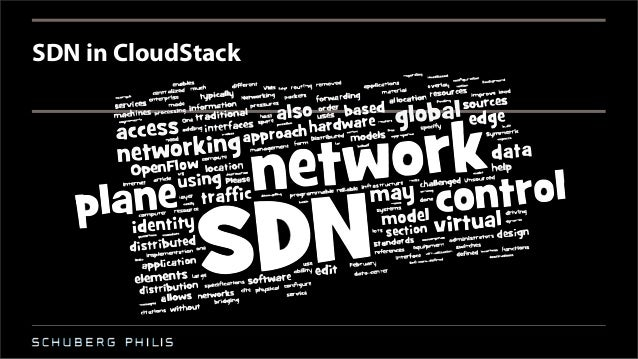 SDN in CloudStack