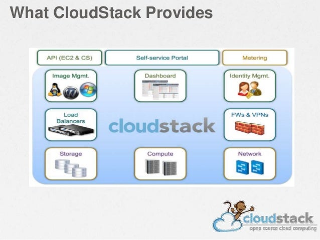 What CloudStack Provides