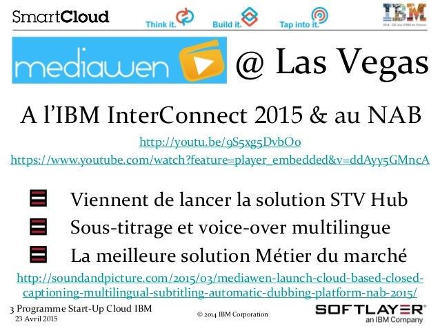 Webinar Cloud Start-Up Program - Avril 2015 Slide 3