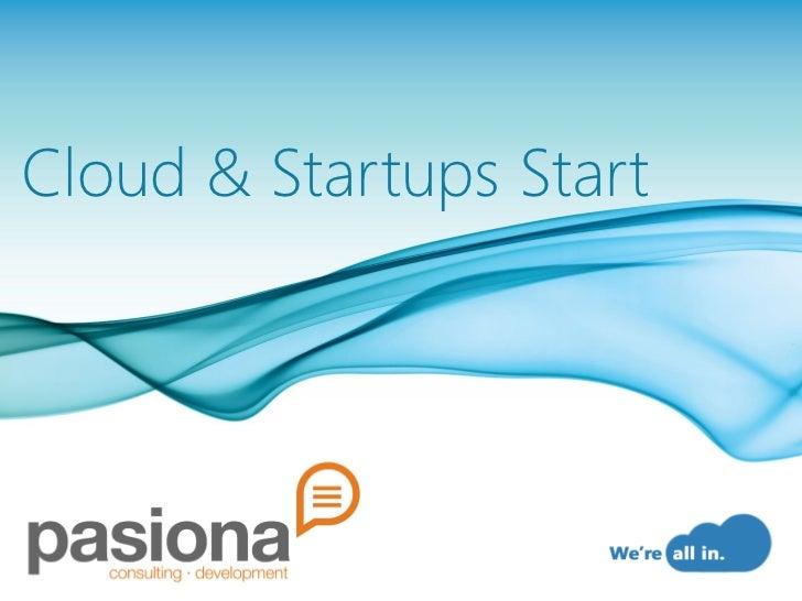 Cloud & Startups Start