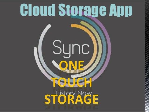 SynC:-Cloud storage app