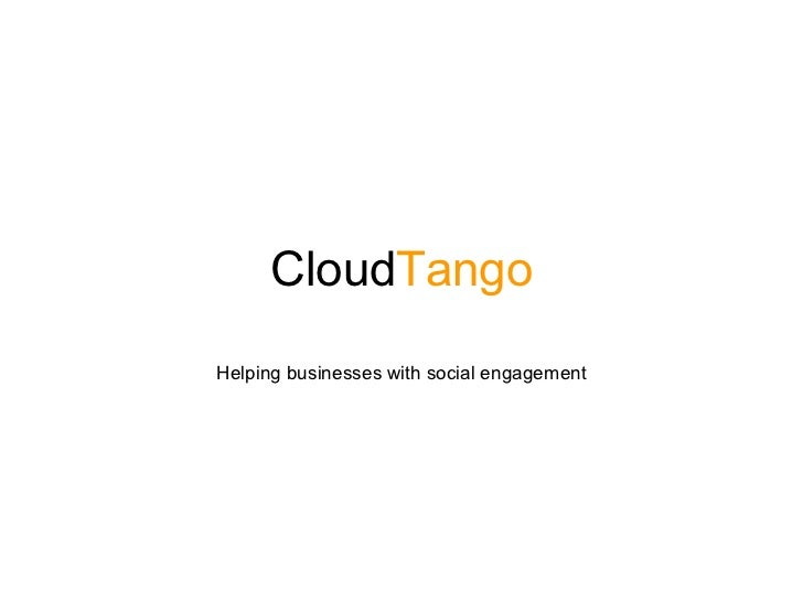 CloudTangoHelping businesses with social engagement