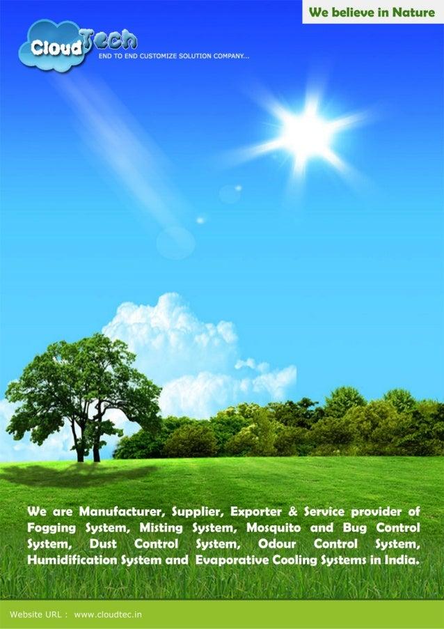 Cloud Tech, Yamunanagar, Fogging & Misting system
