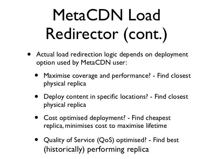 Redirector Overhead           1.8                 from USA                  S3 USA                 MetaCDN           1.6  ...