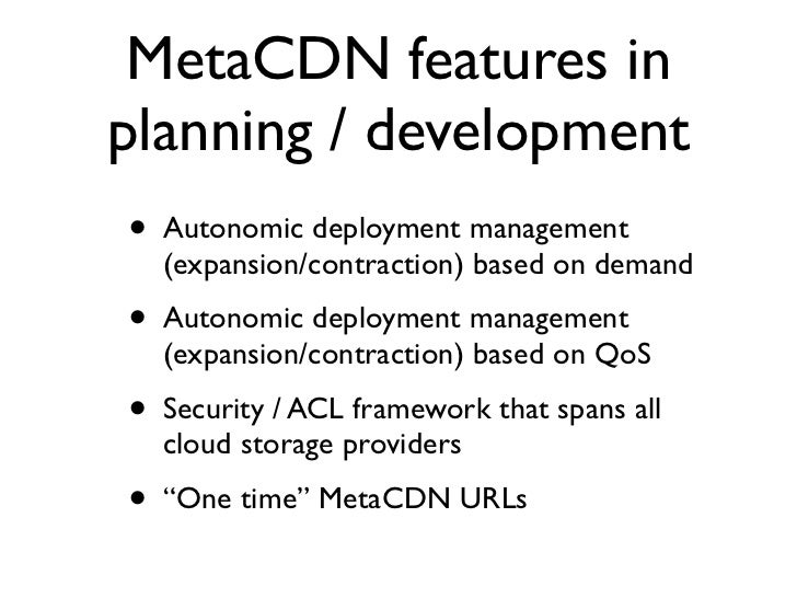 Publications •   J. Broberg and Z. Tari. MetaCDN: Harnessing Storage Clouds for High     Performance Content Delivery. In ...
