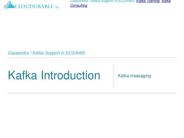 Kafka Tutorial - basics of the Kafka streaming platform Slide 3