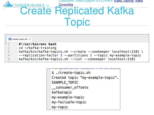 Kafka Tutorial - introduction to the Kafka streaming platform