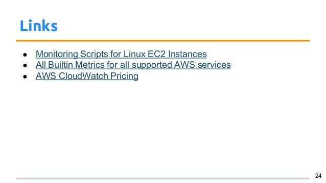 Cloudwatch: Monitoring your AWS services with Metrics and Alarms