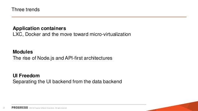 Trends in platform and application architectures (Enterprise Apps World, London, June 17th 2014) Slide 2