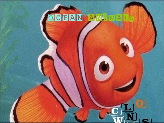 OCEAN ANIMALSClon