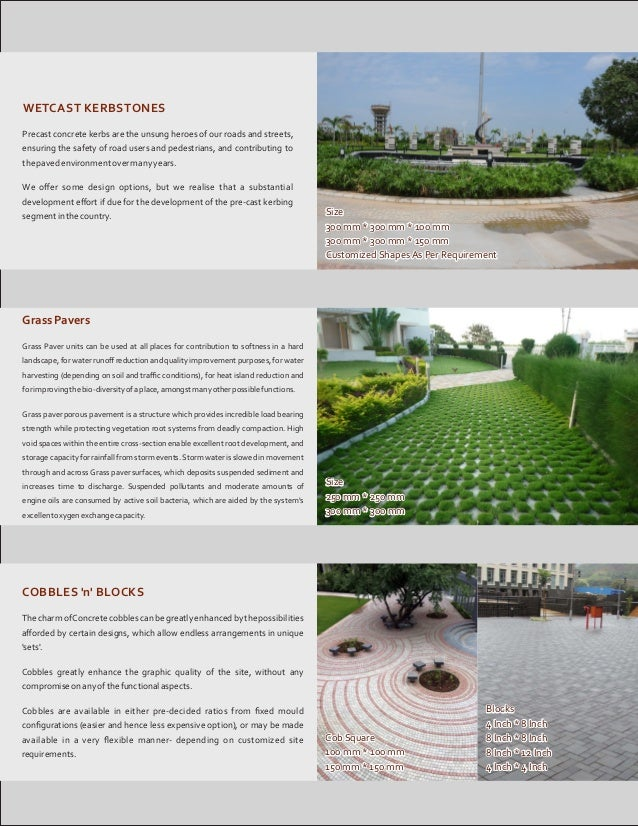 Perfect Pavings, Chandigarh, Kerb Stones and Concrete Pavers