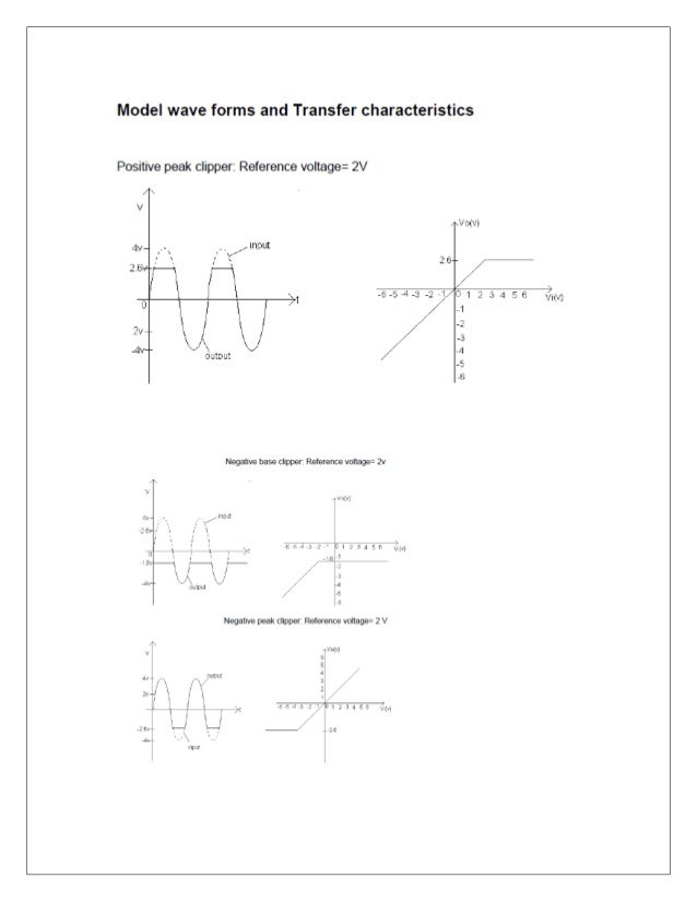 Procedure: 1. Connect the circuit as per circuit diagram Fig 1. 2. Obtain a constant amplitude sine wave from function gen...