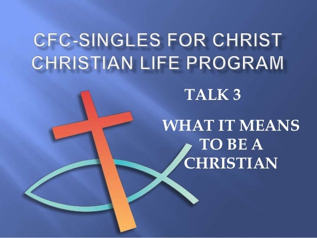 what it means to become a If you want to become a christian and have 'christ-in' you there are a few important things you need to know and believe: god loves you and made you for a reason that means god loves you know matter what you've done.