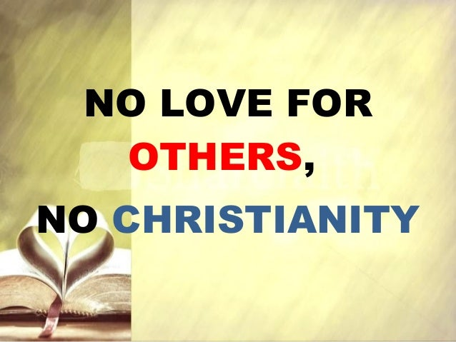 christianity and love