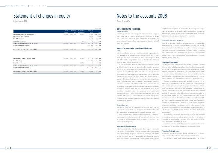 ColorLine årsrapport engelsk 2008