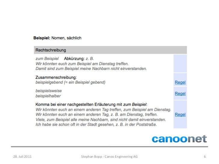 Kennenlernen rechtschreibung 2011