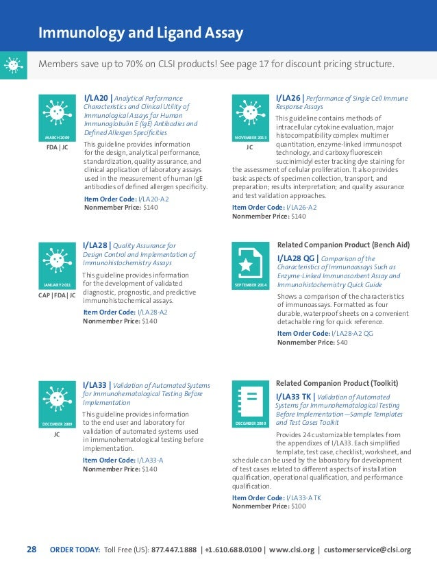 clsi 2015 catalog rh slideshare net