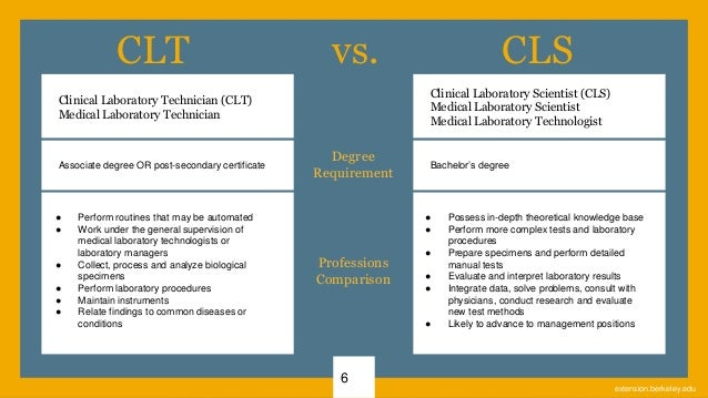 Clinical Laboratory Scientist Preparatory Program