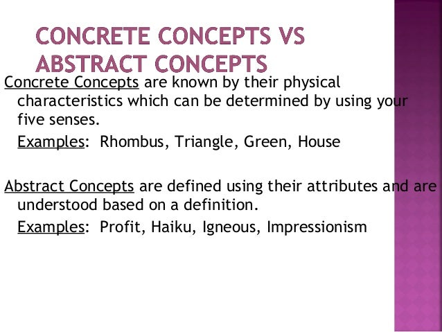 concept definition examples