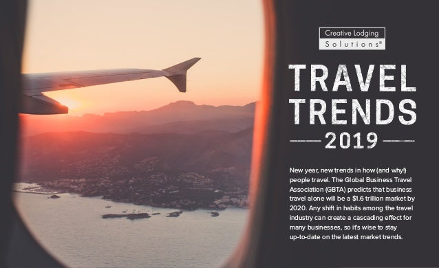 New year, new trends in how (and why!) people travel. The Global Business Travel Association (GBTA) predicts that business...