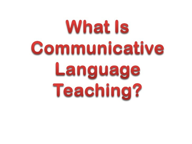 The Communicative Approach emerged in theearly 1970s as a result of the work of theCouncil of Europe experts. However, it ...