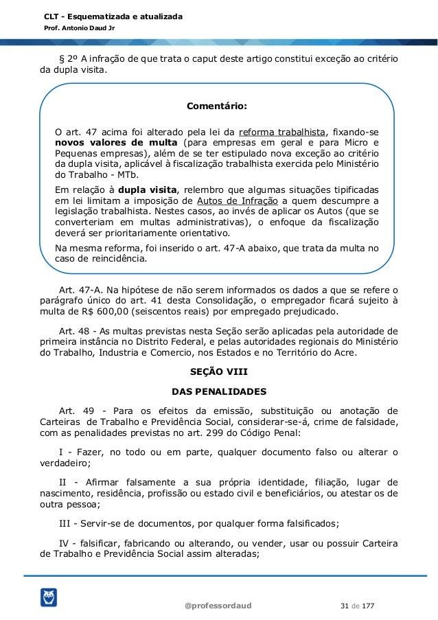 clt esquematizada parte 01808 Artigo 59 Do Codigo Penal #11
